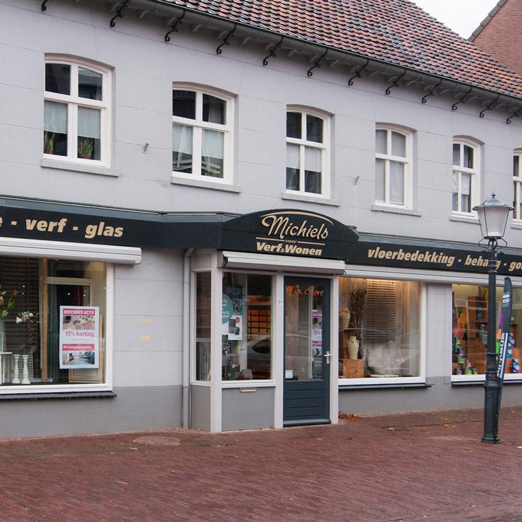 Verf & Wonen - winkel buitenkant