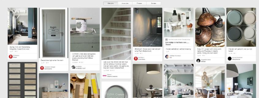 screenshot Pinterest