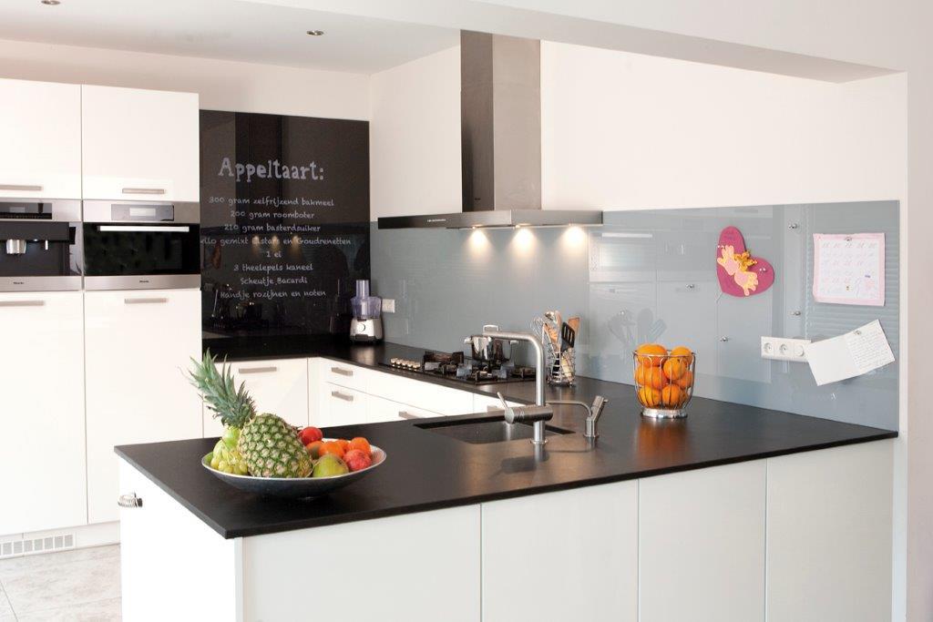 Melkglas Keuken Achterwand : De vele mogelijkheden van glas in het interieur glas en